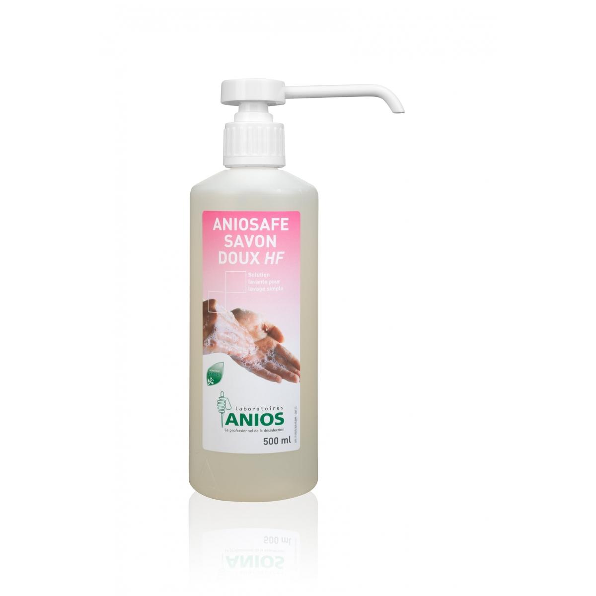 Hygiène - ANIOSAFE SAVON DOUX HF 500 ml