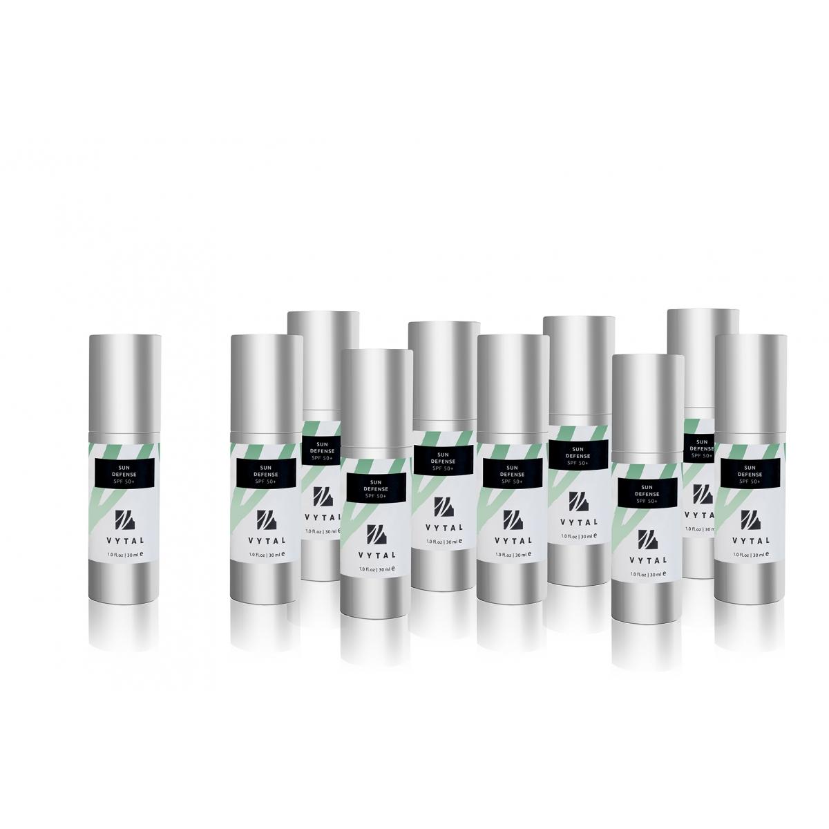 SOIN DU VISAGE - CREME PROTECTION SOLAIRE VYTAL SKIN UV50+ (30 ml) (x10)