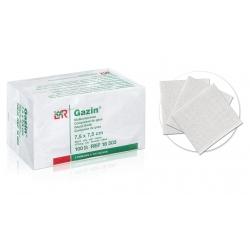 Consommables -  - COMPRESSE DE GAZE NON STERILE 7,5 cm x 7,5 cm (x100)