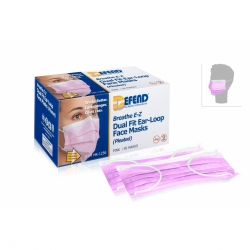 Praticien -  - MASQUE CHIRURGICAL DE PROTECTION ROSE (x50)