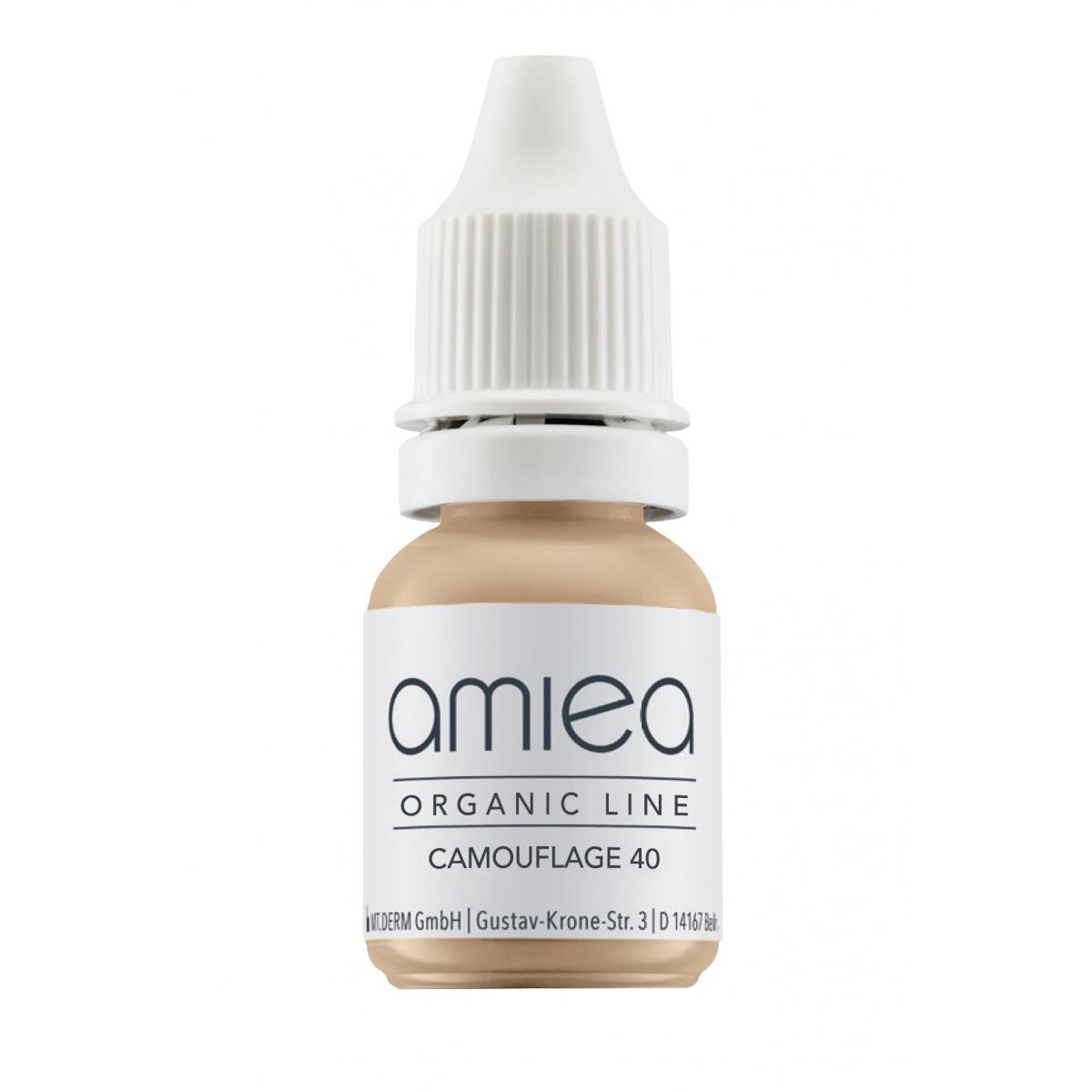 Organicline (10 ml) - PIGMENTS AMIEA ORGANICLINE CAMOUFLAGE 40, Flacon 10 ml