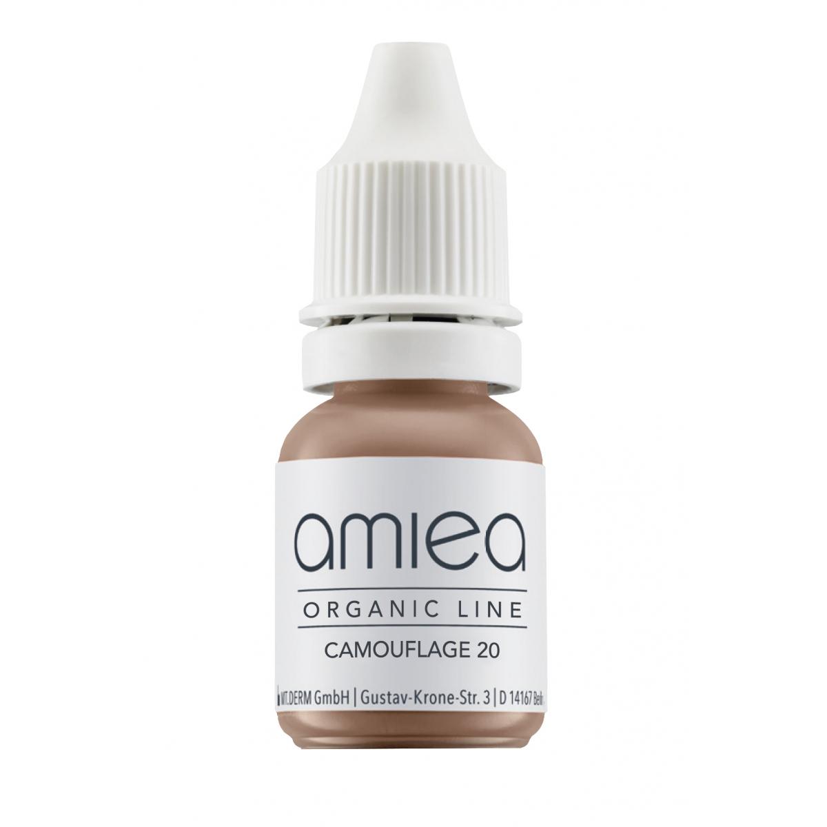 Organicline (10 ml) - PIGMENTS AMIEA ORGANICLINE CAMOUFLAGE 20, Flacon 10 ml