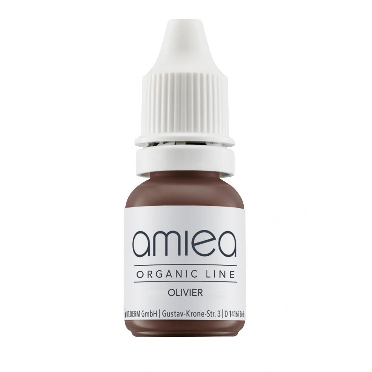 Organicline (10 ml) - PIGMENTS AMIEA ORGANICLINE OLIVIER, Flacon 10 ml