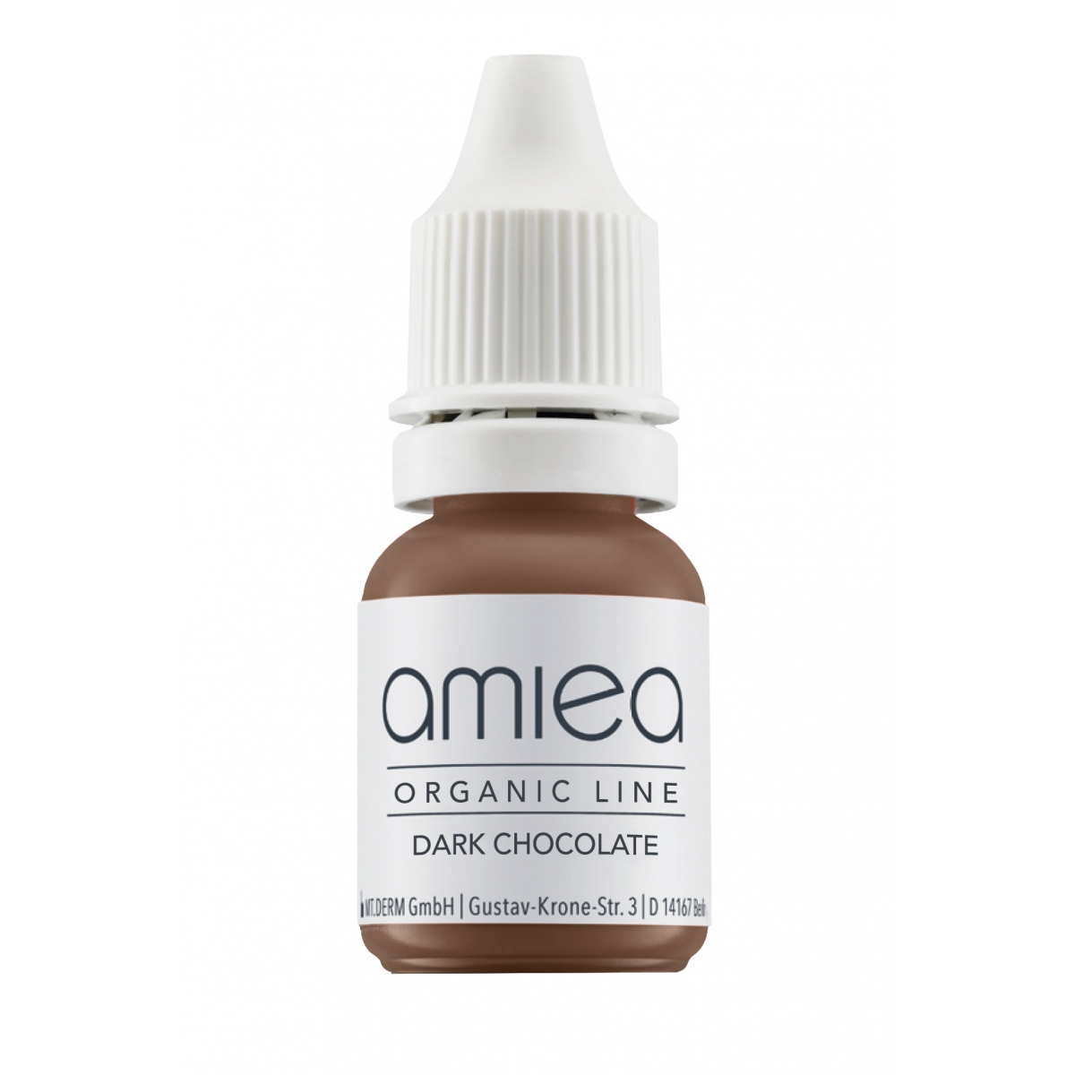ORGANIC LINE (10ml) - PIGMENT DARK CHOCOLATE ORGANICLINE AMIEA (10 ml)
