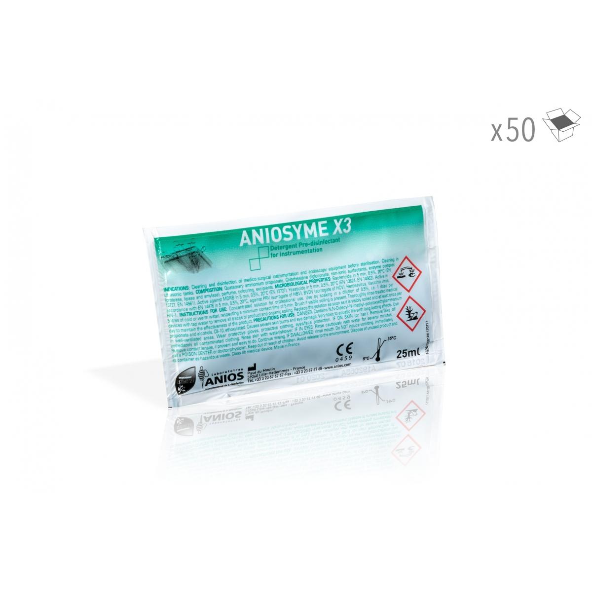 ANIOSYME X3 25 ml (x50)