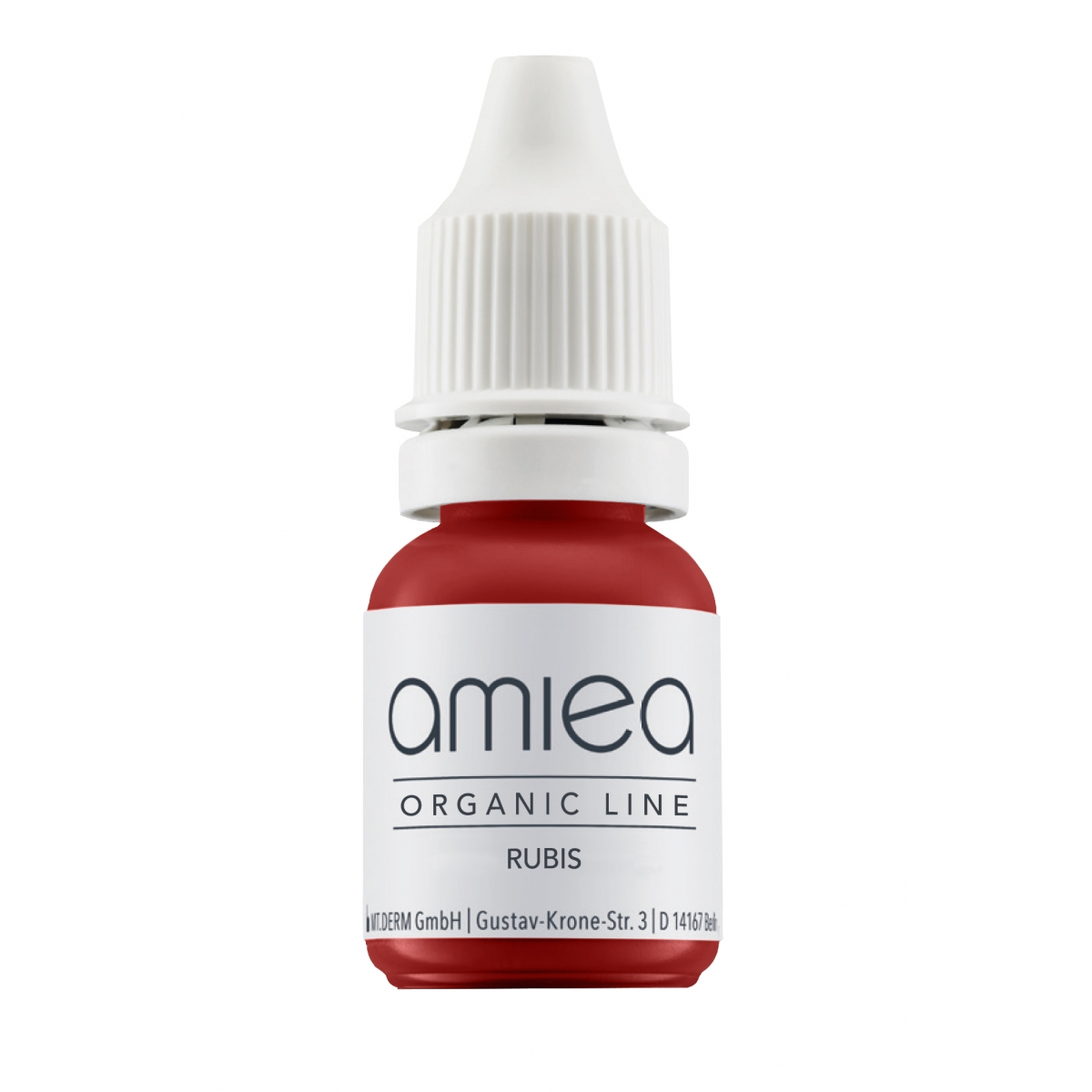 Organicline (10 ml) - PIGMENTS AMIEA ORGANICLINE RUBIS, Flacon 10 ml