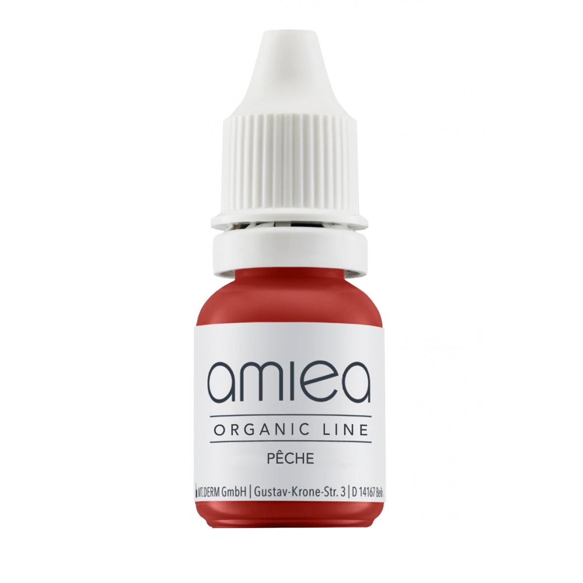 Organicline (10 ml) - PIGMENTS AMIEA ORGANICLINE PECHE, Flacon 10 ml