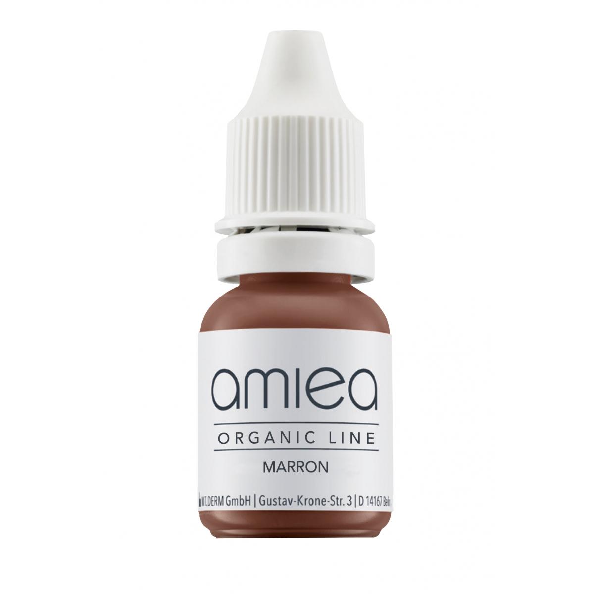 Organicline (10 ml) - PIGMENTS AMIEA ORGANICLINE MARRON, Flacon 10 ml