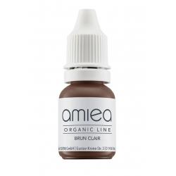 Organicline (10 ml) -  - PIGMENTS AMIEA ORGANICLINE BRUN CLAIR, Flacon 10 ml