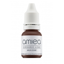 Organicline (10 ml) - PIGMENTS AMIEA ORGANICLINE BRUN DORE, Flacon 10 ml