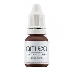 Organicline (10 ml) -  - PIGMENTS AMIEA ORGANICLINE BRUN DORE, Flacon 10 ml
