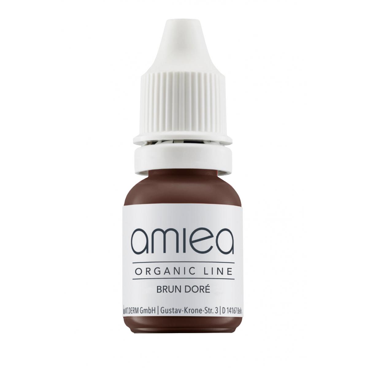 Organicline (10 ml) - PIGMENTS AMIEA ORGANICLINE BRUN DORE, Flacon 10 ml