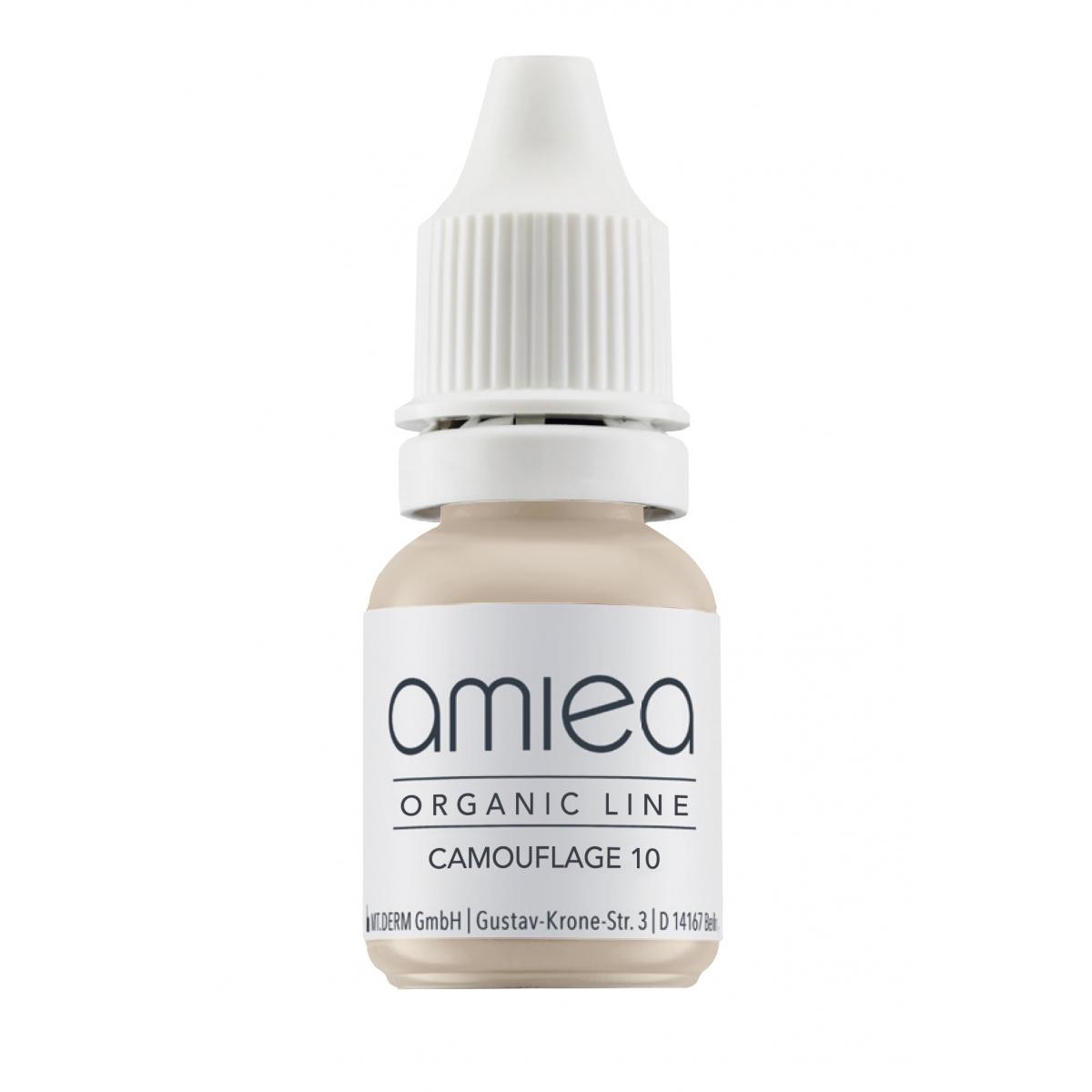 Organicline (5 ml)  - PIGMENTS AMIEA ORGANICLINE CAMOUFLAGE 10, Flacon 5 ml