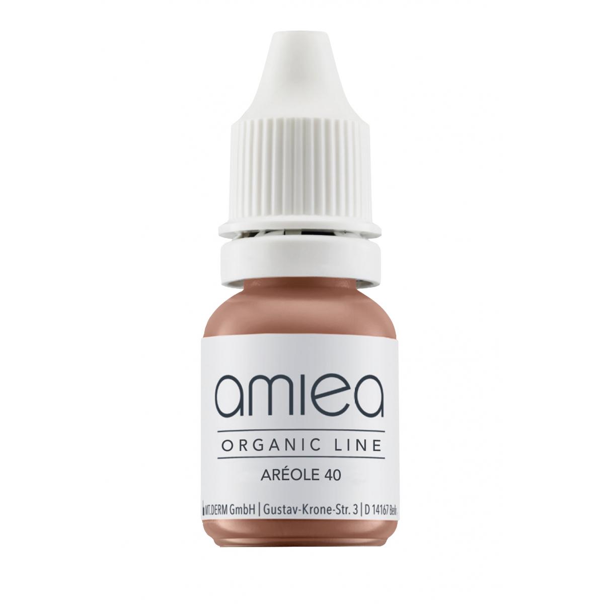 Organicline (5 ml)  - PIGMENTS AMIEA ORGANICLINE AREOLES 40, Flacon 5 ml