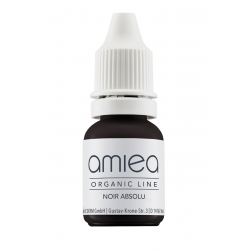 Organicline (5 ml)  -  - PIGMENTS AMIEA ORGANICLINE NOIR ABSOLU, Flacon 5 ml