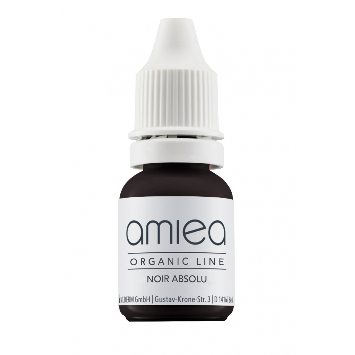 Organicline (5 ml)  - PIGMENTS AMIEA ORGANICLINE NOIR ABSOLU, Flacon 5 ml