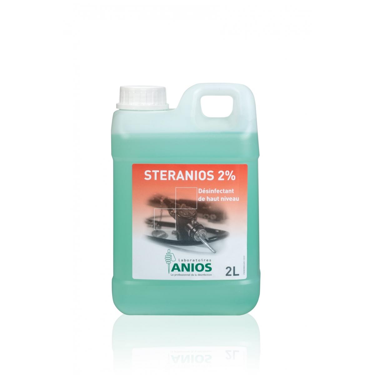 HYGIENE - DESINFECTANT A FROID STERANIOS 2% ANIOS (2 L)