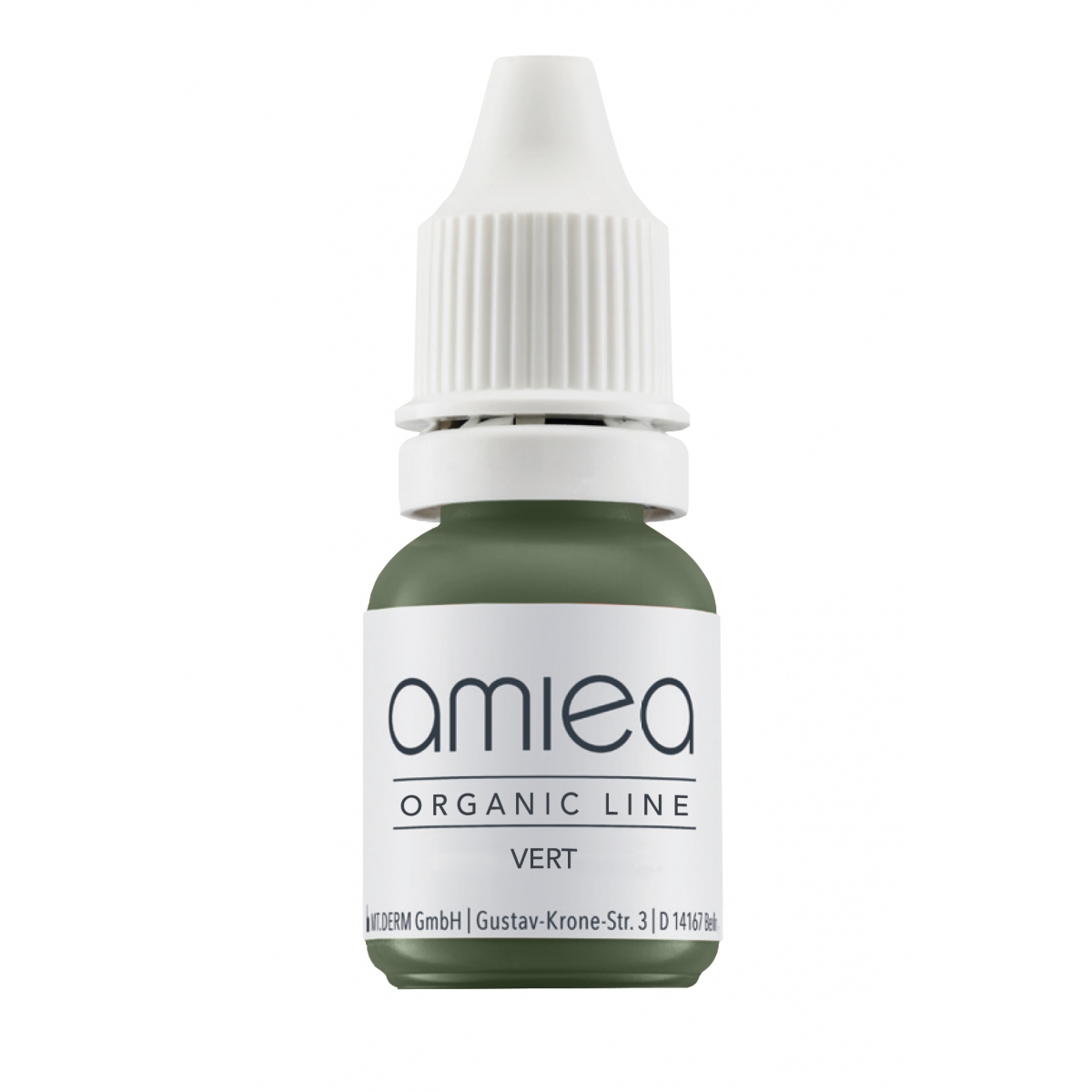 Organicline (5 ml)  - PIGMENTS AMIEA ORGANICLINE CORRECTEUR VERT, Flacon 5 ml