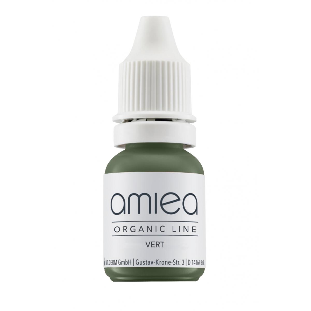 ORGANIC LINE (5ml)  - PIGMENT CORRECTEUR VERT ORGANICLINE AMIEA (5 ml)