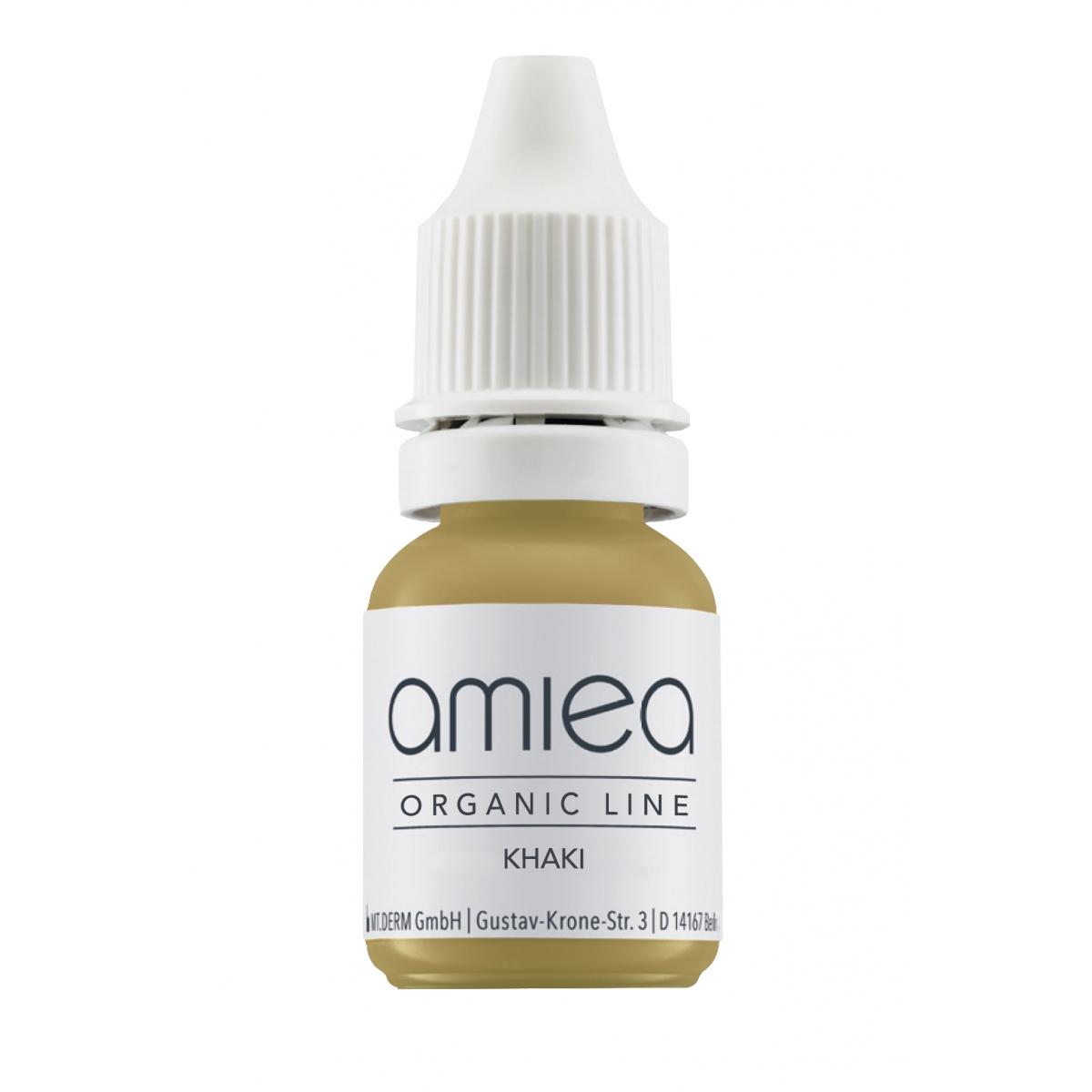 Organicline (5 ml)  - PIGMENTS AMIEA ORGANICLINE CORRECTEUR KHAKI, Flacon 5 ml