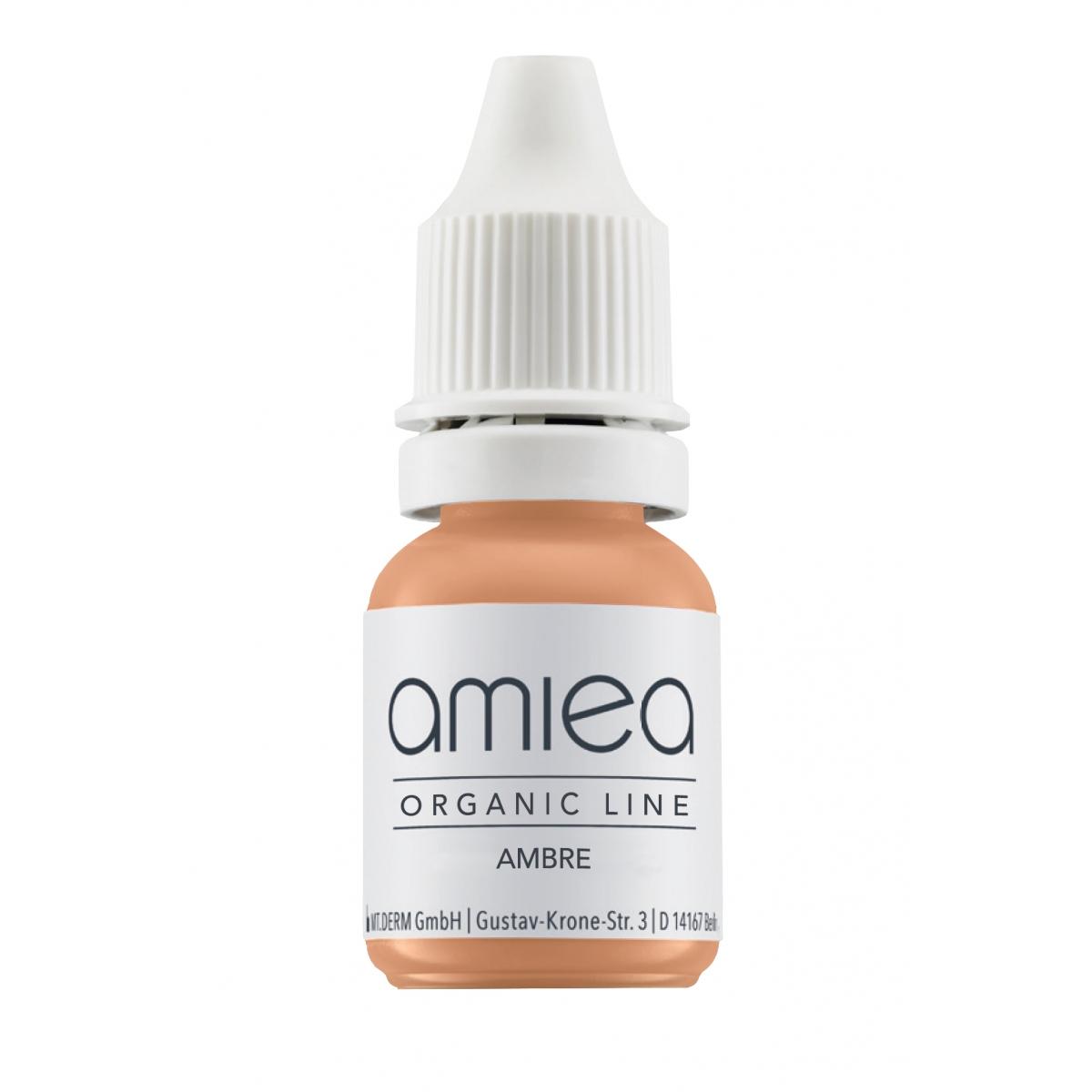 Organicline (5 ml)  - PIGMENTS AMIEA ORGANICLINE CORRECTEUR AMBRE, Flacon 5 ml
