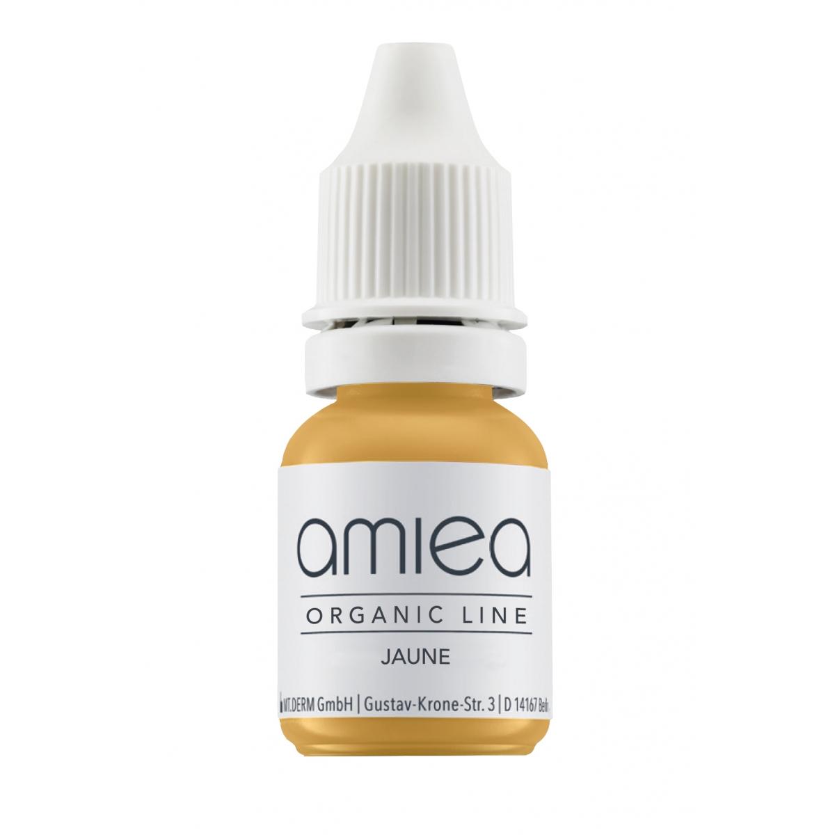 Organicline (5 ml)  - PIGMENTS AMIEA ORGANICLINE CORRECTEUR JAUNE, Flacon 5 ml