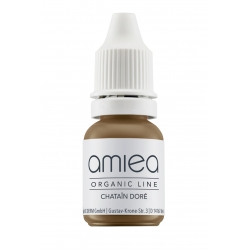 Organicline (5 ml)  -  - PIGMENTS AMIEA ORGANICLINE CHATAIN DORE, Flacon 5 ml