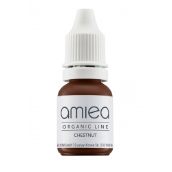 Organicline (5 ml)  -  - PIGMENTS AMIEA ORGANICLINE CHESTNUT, Flacon 5 ml