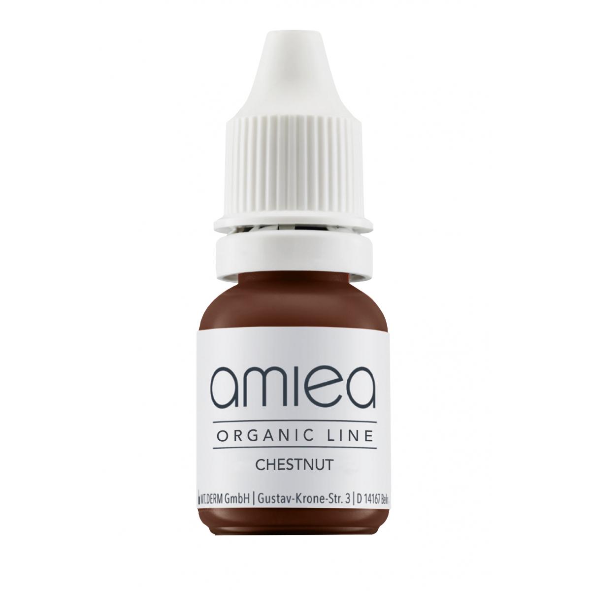 Organicline (5 ml)  - PIGMENTS AMIEA ORGANICLINE CHESTNUT, Flacon 5 ml