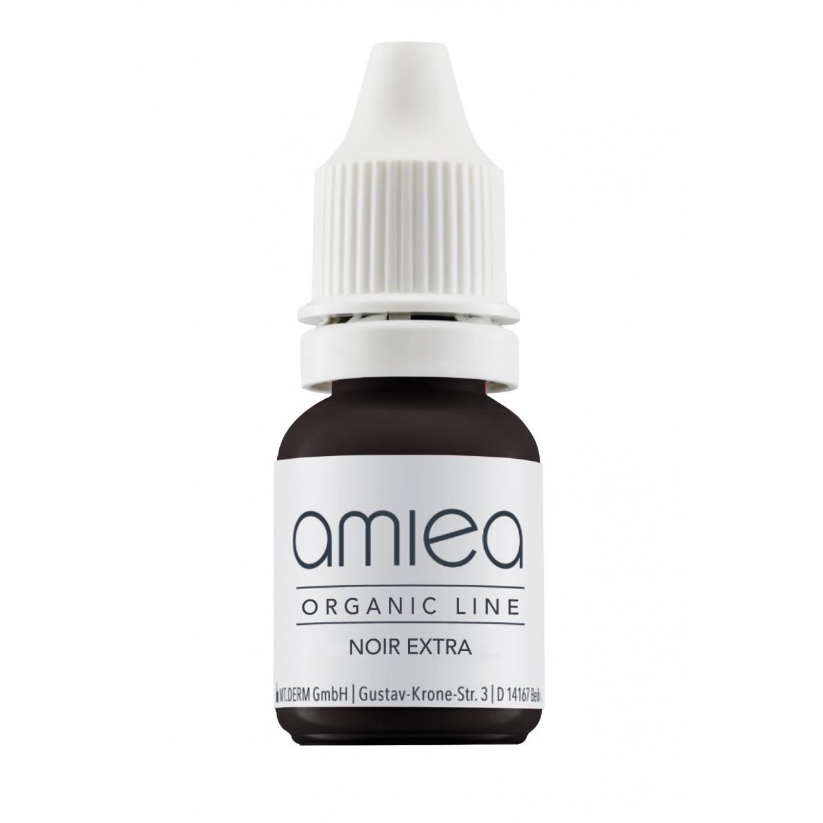 Organicline (5 ml)  - PIGMENTS AMIEA ORGANICLINE NOIR EXTRA, Flacon 5 ml