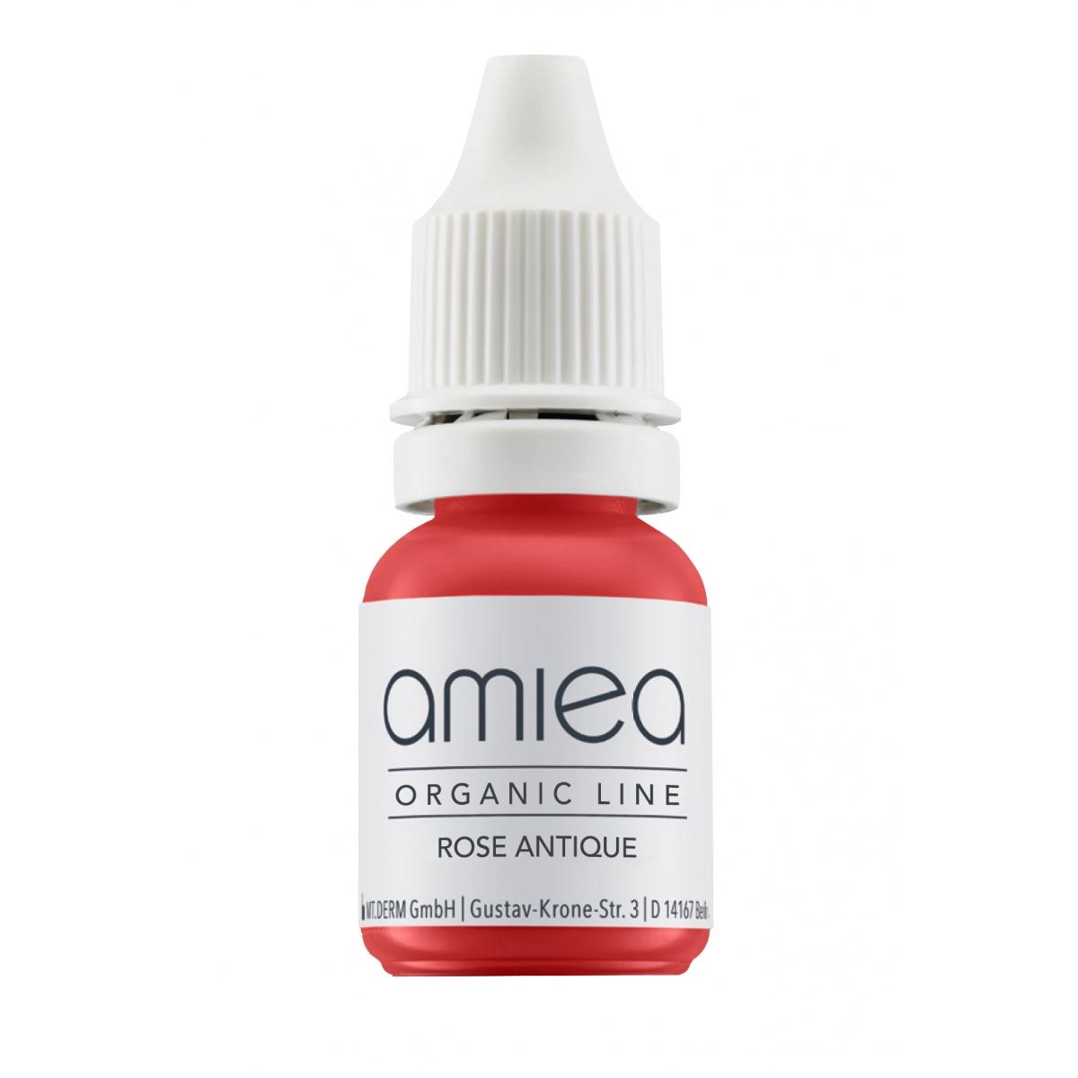 Organicline (5 ml)  - PIGMENTS AMIEA ORGANICLINE ROSE ANTIQUE, Flacon 5 ml