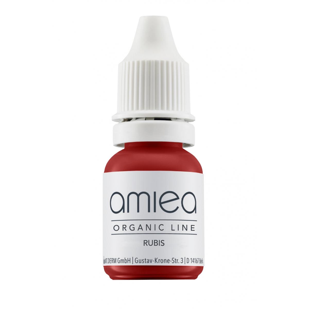 Organicline (5 ml)  - PIGMENTS AMIEA ORGANICLINE RUBIS, Flacon 5 ml
