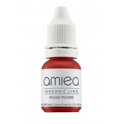 Organicline (5 ml)  - PIGMENTS AMIEA ORGANICLINE ROUGE POUDRE, Flacon 5 ml