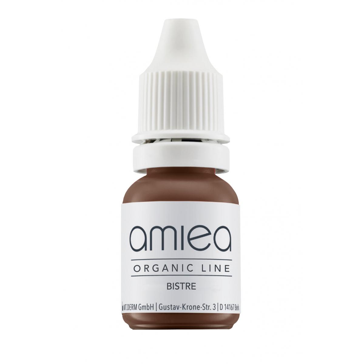 Organicline (5 ml)  - PIGMENTS AMIEA ORGANICLINE BISTRE, Flacon 5 ml