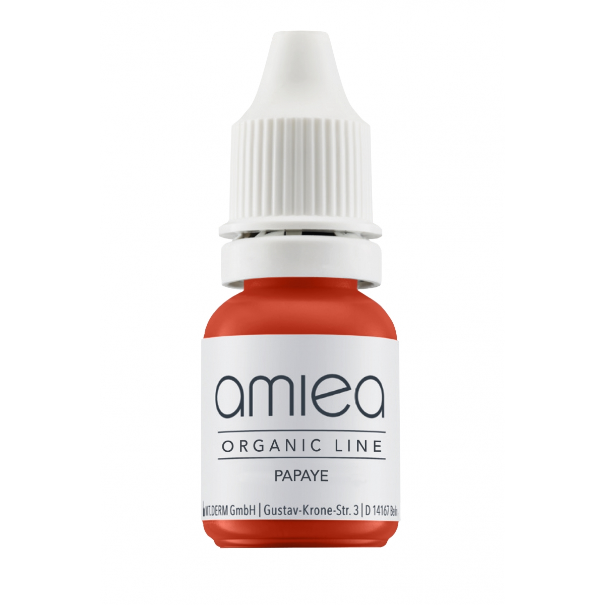 Organicline (5 ml)  - PIGMENTS AMIEA ORGANICLINE PAPAYE, Flacon 5 ml