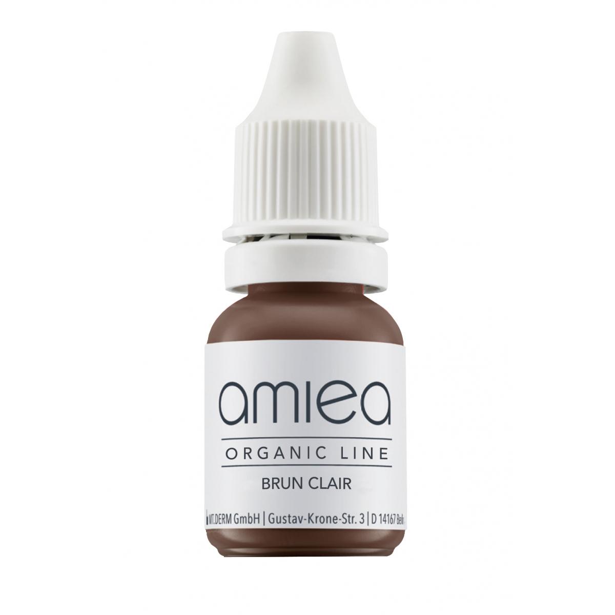 Organicline (5 ml)  - PIGMENTS AMIEA ORGANICLINE BRUN CLAIR, Flacon 5 ml