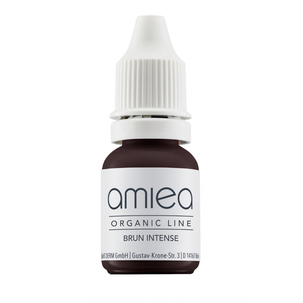 Organicline (5 ml)  - PIGMENTS AMIEA ORGANICLINE BRUN INTENSE, Flacon 5 ml