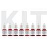 Kits Pigments - KIT ESSENTIELS ORGANICLINE - LEVRES 5 ml (AMIEA)