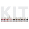Kits Pigments - KIT ESSENTIELS ORGANICLINE - MIXTE 5 ml (AMIEA)