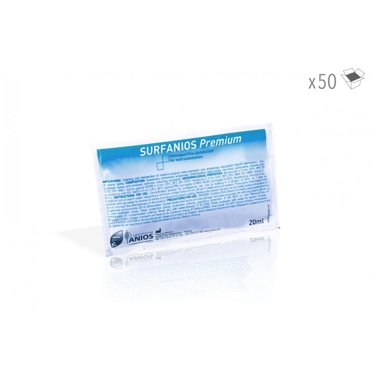 Consommables - SURFANIOS PREMIUM 25 ml (x50)