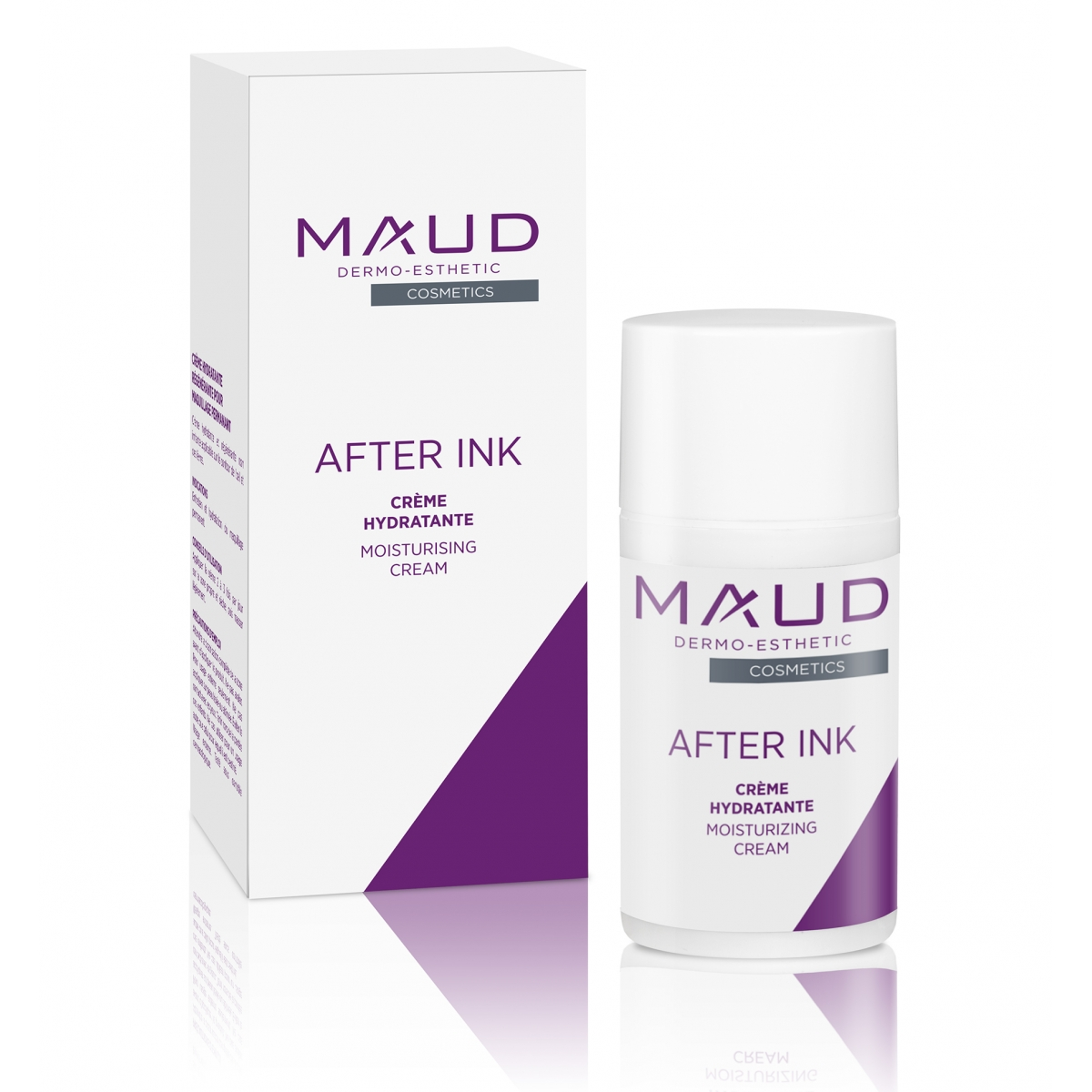 SOINS DERMOPIGMENTATION - MAUD COSMETICS - CREME CICATRISANTE POST MAQUILLAGE PERMANENT AFTER INK (15 ml)