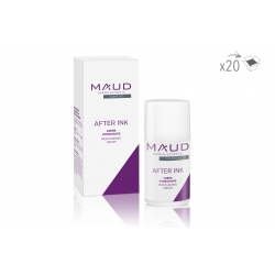 SOINS DERMO - MAUD PROFESSIONAL SHOP - CREME CICATRISANTE POST MAQUILLAGE PERMANENT AFTER INK (15 ml) (x20)