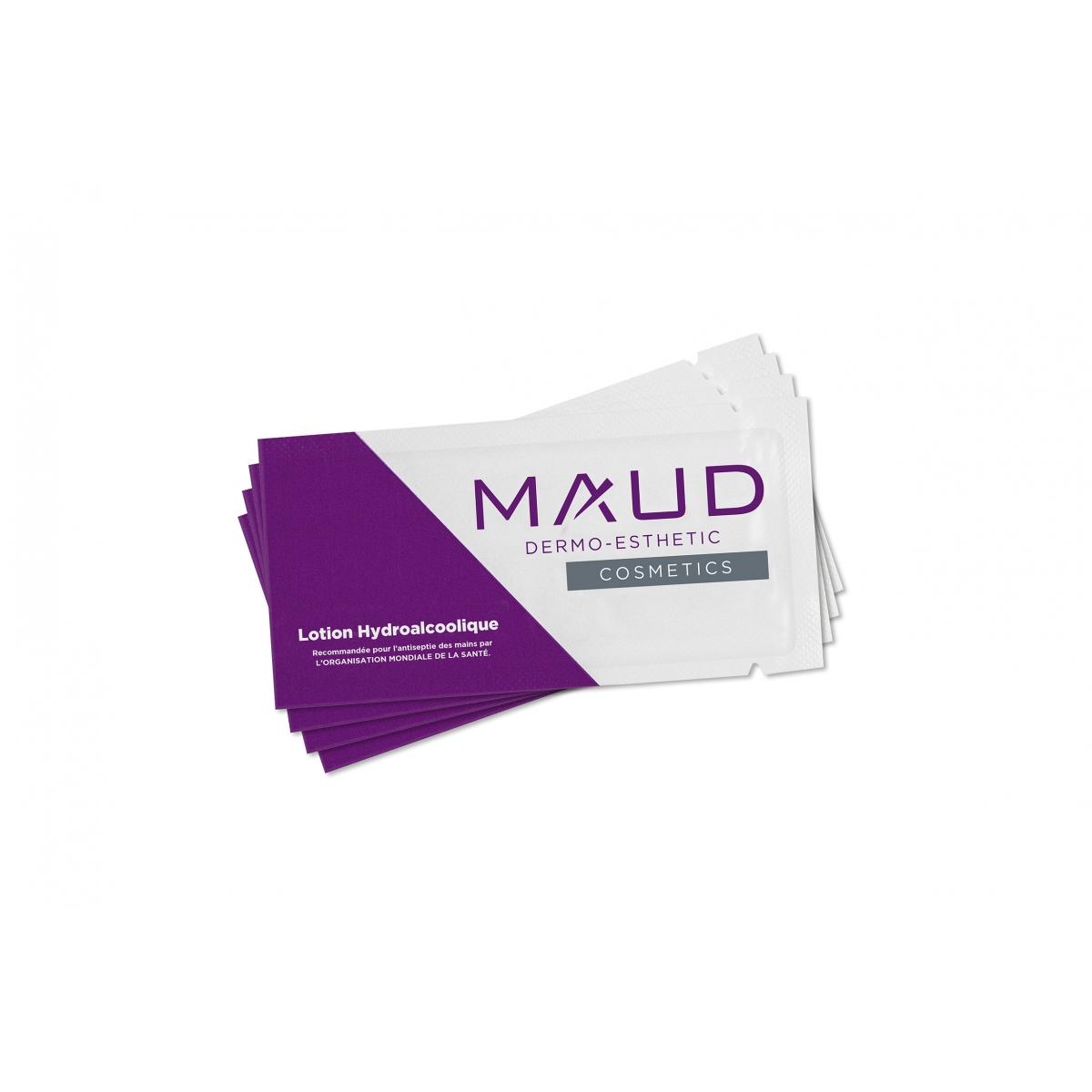 HYGIENE - MAUD PROFESSIONAL SHOP - GEL HYDROALCOOLIQUE EN SACHET (1,5 ml) (x35)