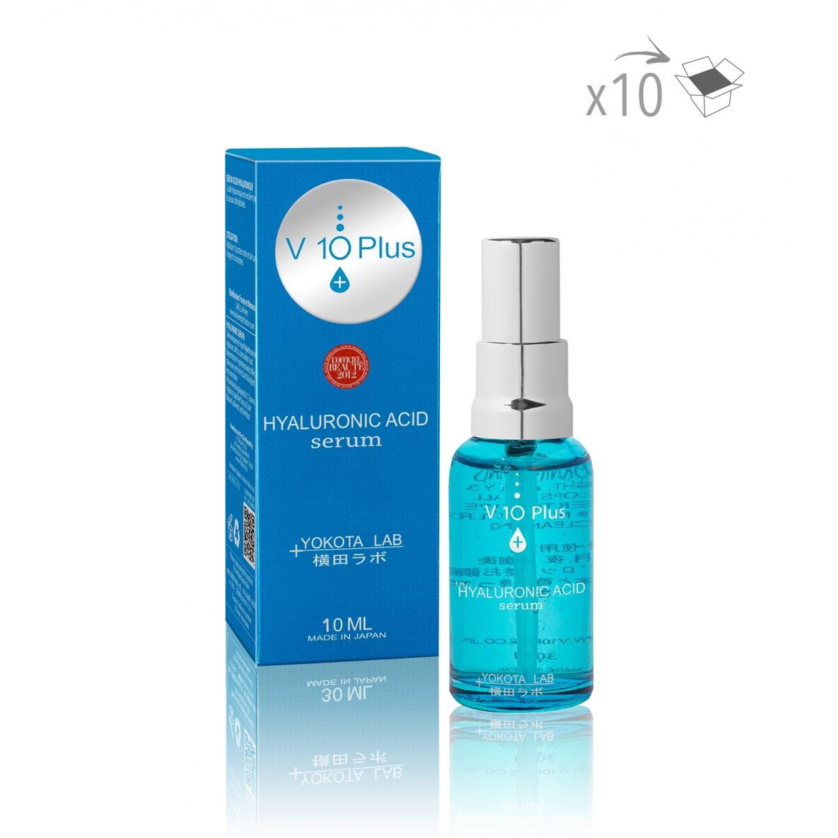 PRODUITS A LA REVENTE - ACIDE HYALURONIQUE SERUM V10+ (10 ml) (x10)