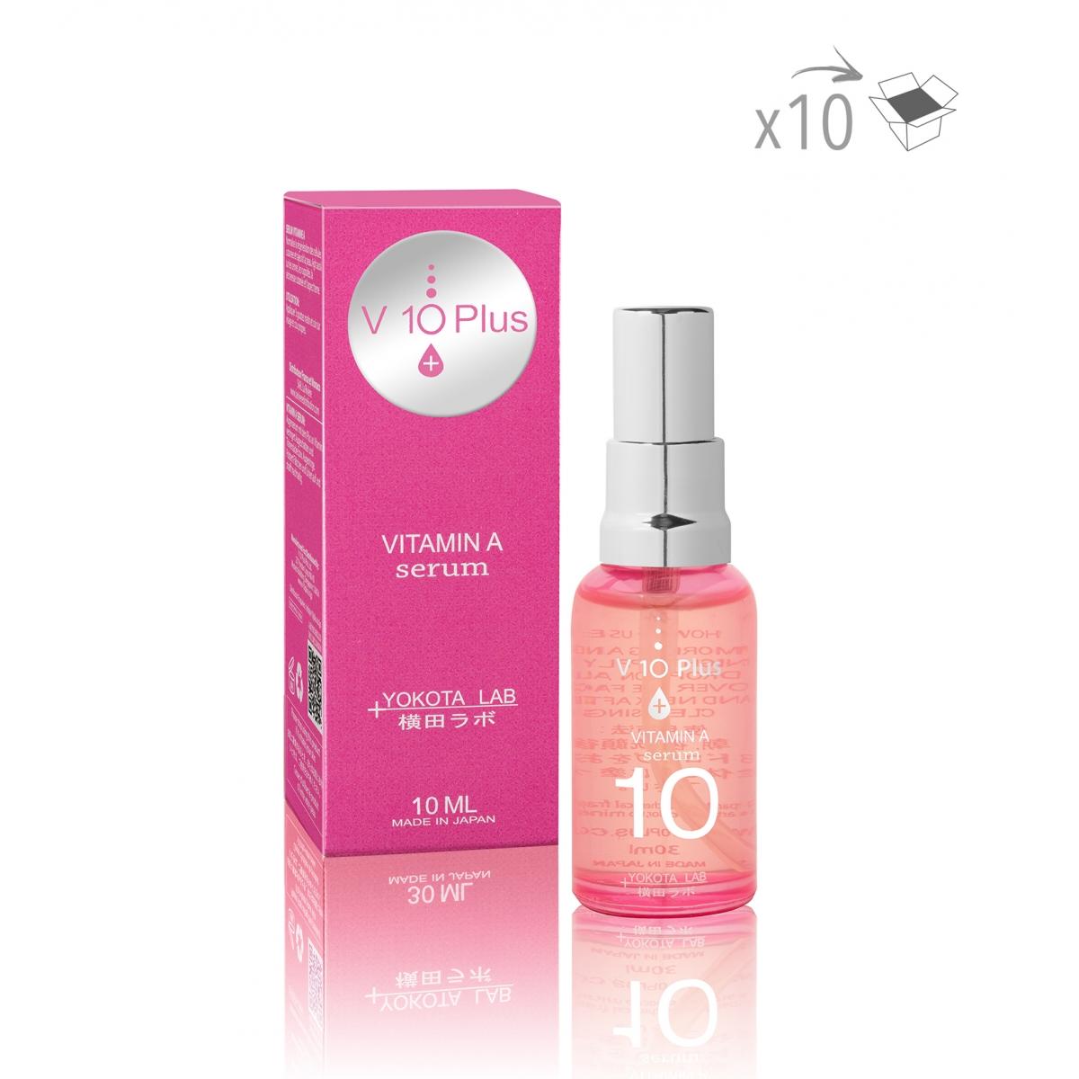 PRODUITS A LA REVENTE - VITAMINE A SERUM V10+ (10 ml) (x10)