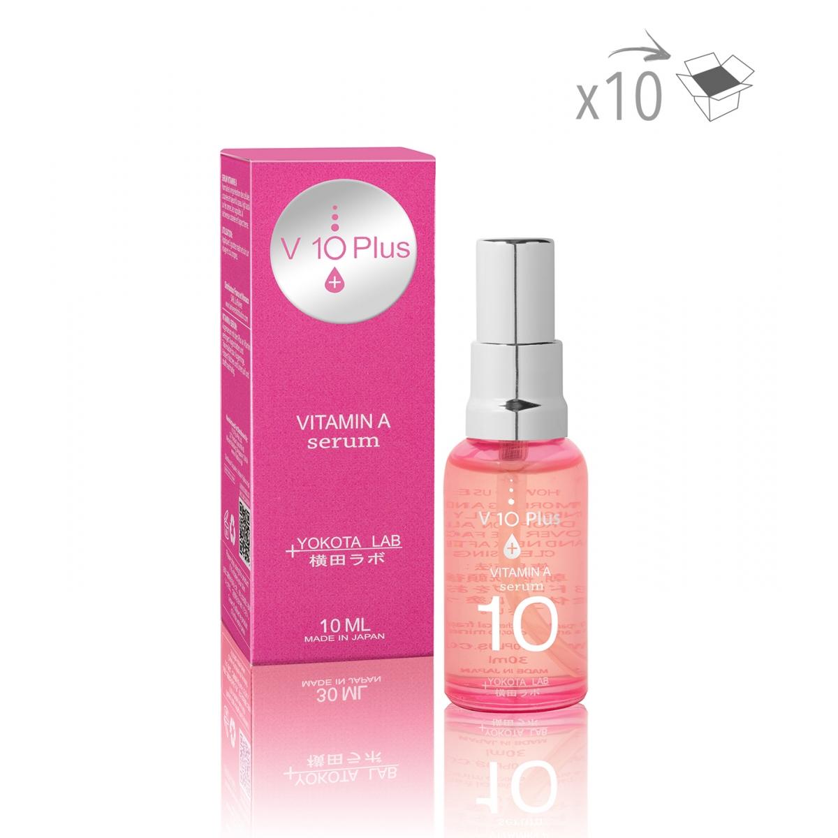 PRODUITS A LA REVENTE - VITAMINE A SERUM V10+ (30 ml) (x10)