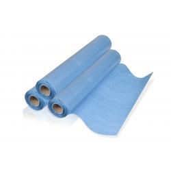 PROTECTIONS -  - DRAP D'EXAMEN PAPIER BLEU (x6) (x180 - 50x35 cm)