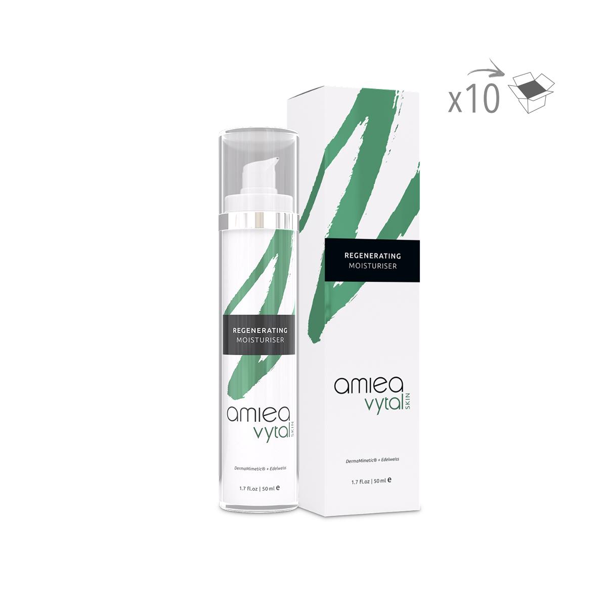 CREME HYDRATANTE ANTI-AGE VYTAL SKIN (50 ml) (x10ml)