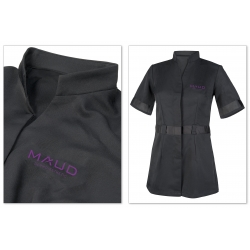 VETEMENTS - MAUD PROFESSIONAL SHOP - BLOUSE MAUD ACADEMY FORMATRICE FEMME NOIR (XL)