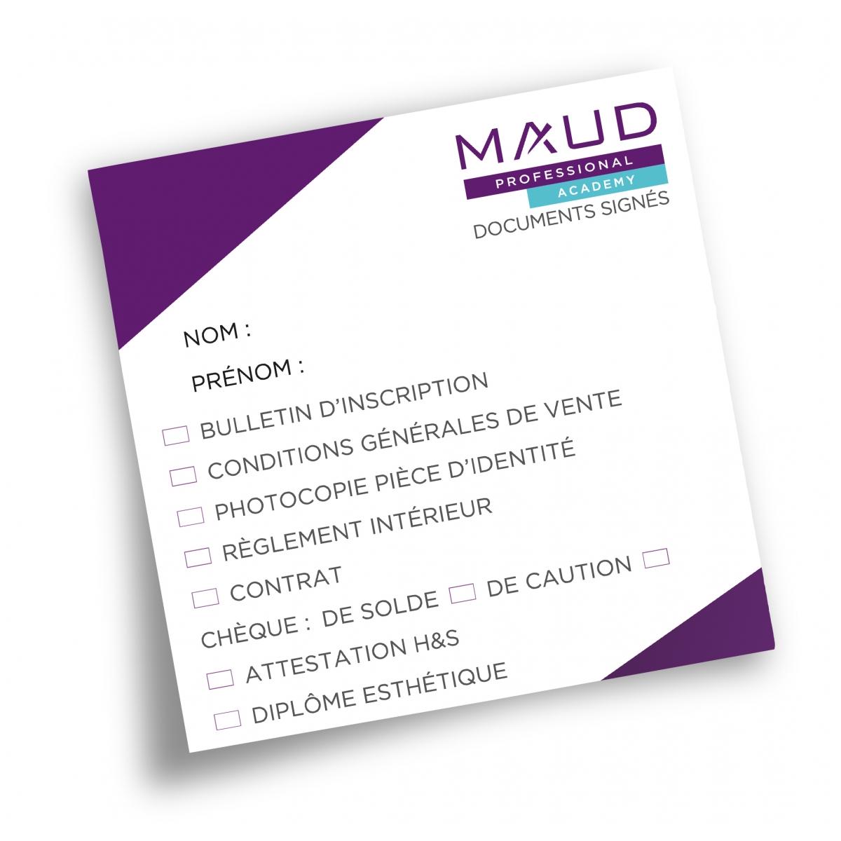 ACADEMIES - MAUD PROFESSIONAL SHOP - POST-IT MAUD ACADEMY (x25)